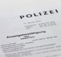 Anzeige Polizei Was Passiert