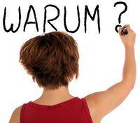 Eine Frau schreibt: Warum?