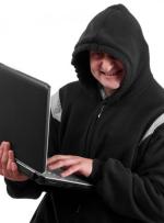 Mann mit Computer