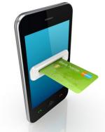 Handy mit Kreditkarte