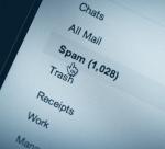 Spam-Liste eines Mail-Programms