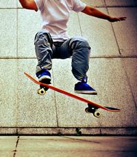 Daniel will ein Skateboard