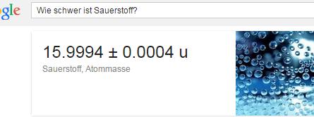 Google eine Frage stellen